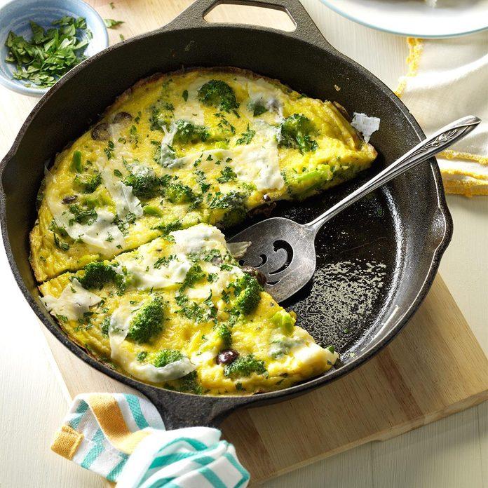 Make breakfast for dinner.