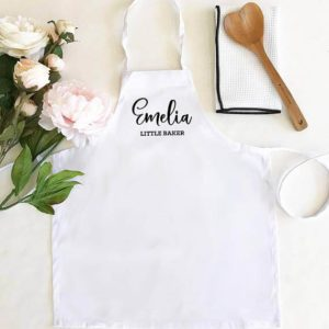 Personalized Apron for Kid Chef