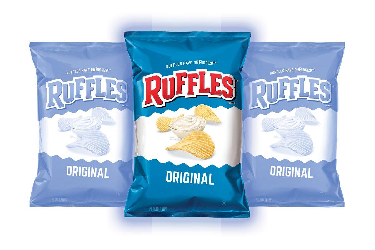 Ruffles Original Potato Chips, 9 Oz.