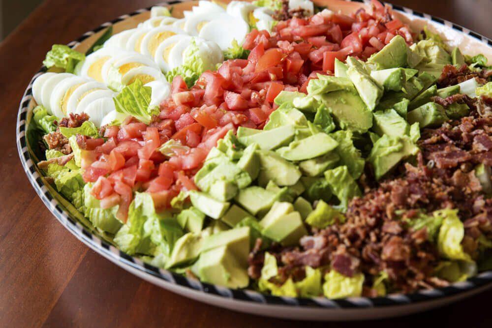 Colorful, fresh Cobb Salad