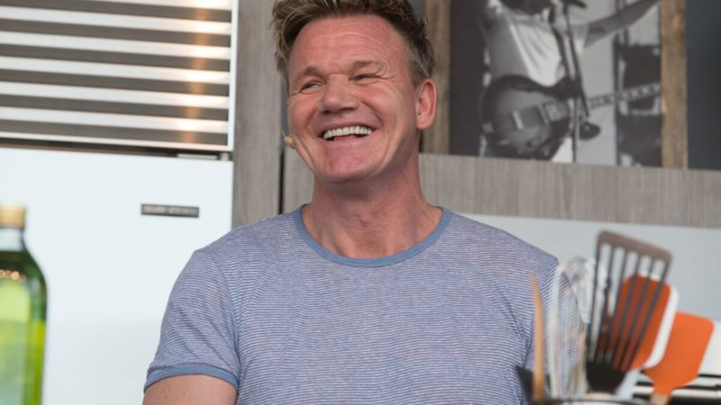 Gordon Ramsay speaks at BottleRock