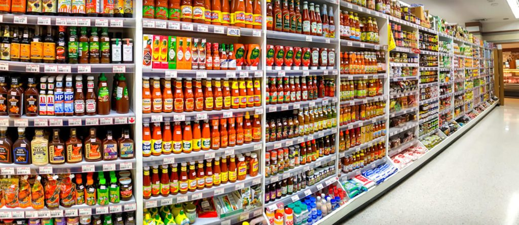 Foodland Supermarket in Victoria Gardens stocks various bottles of sauces