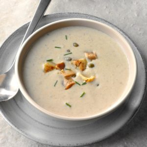 Artichoke & Caper Cream Soup