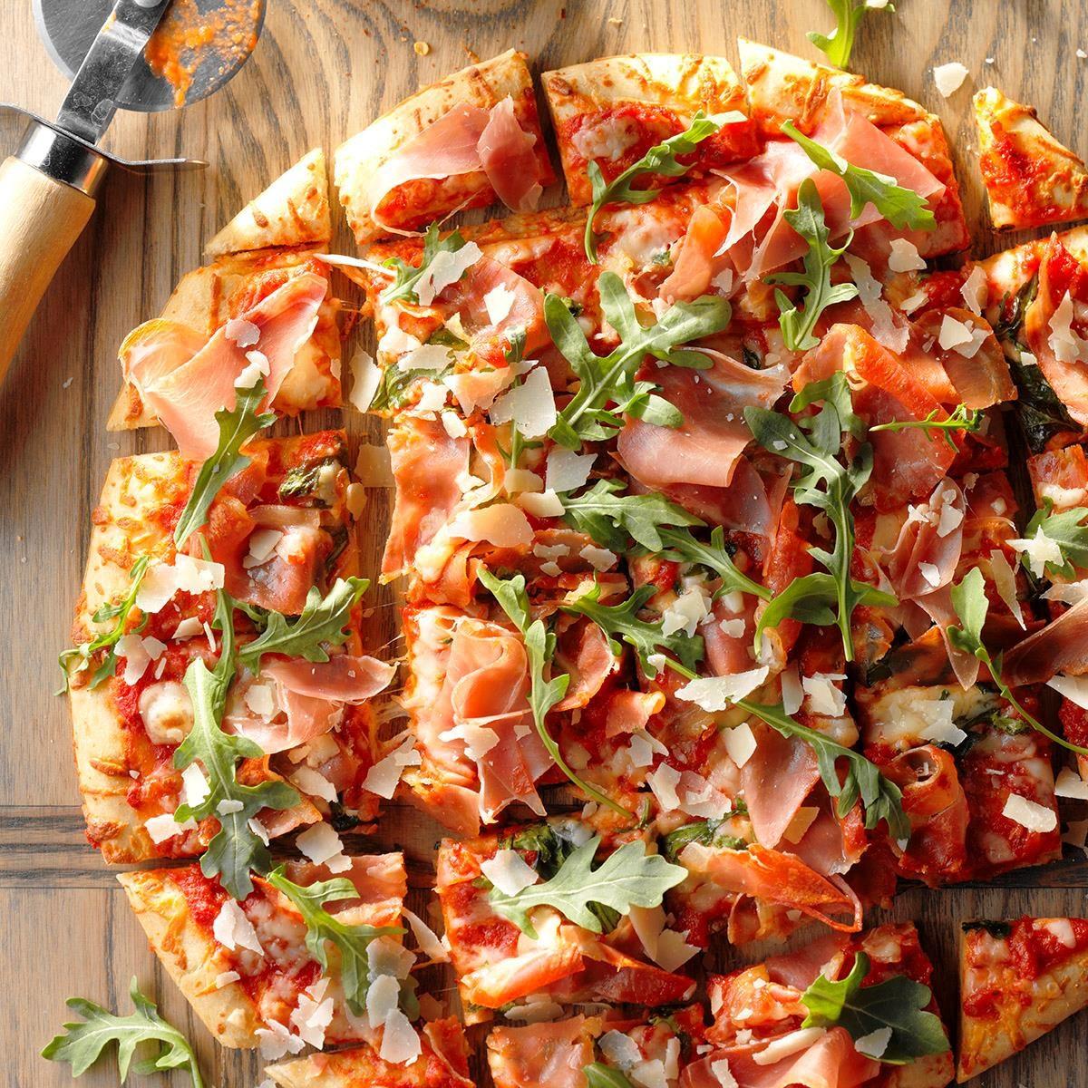 Arugula Pizza Recipe Taste Of Home