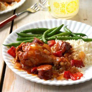 BBQ Chicken & Smoked Sausage