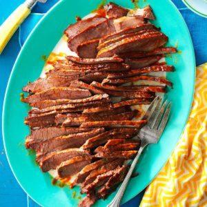 Beef Brisket with Mop Sauce