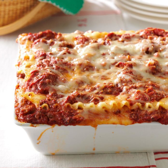 Inspired By: Olive Garden's Lasagna Classico