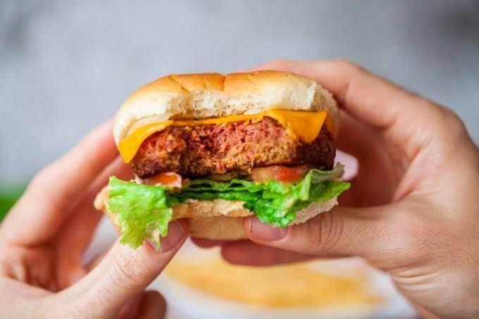 Beyond Meat meatless burger