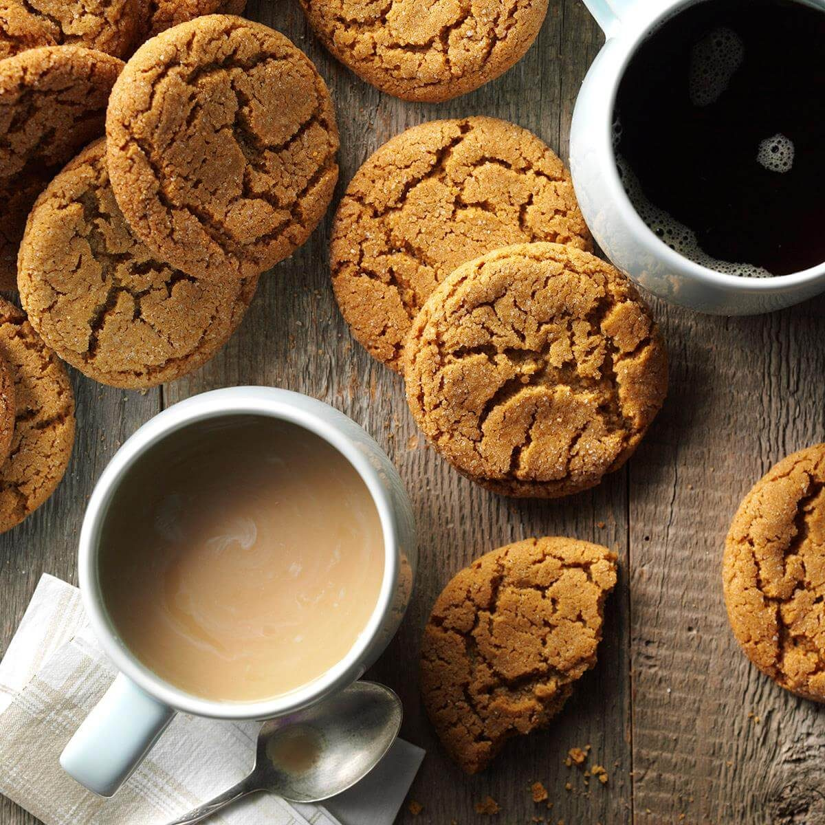 Big Soft Ginger Cookies Recipe