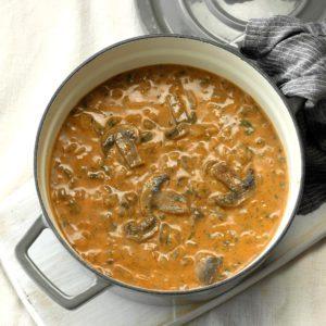 Brie Mushroom Soup