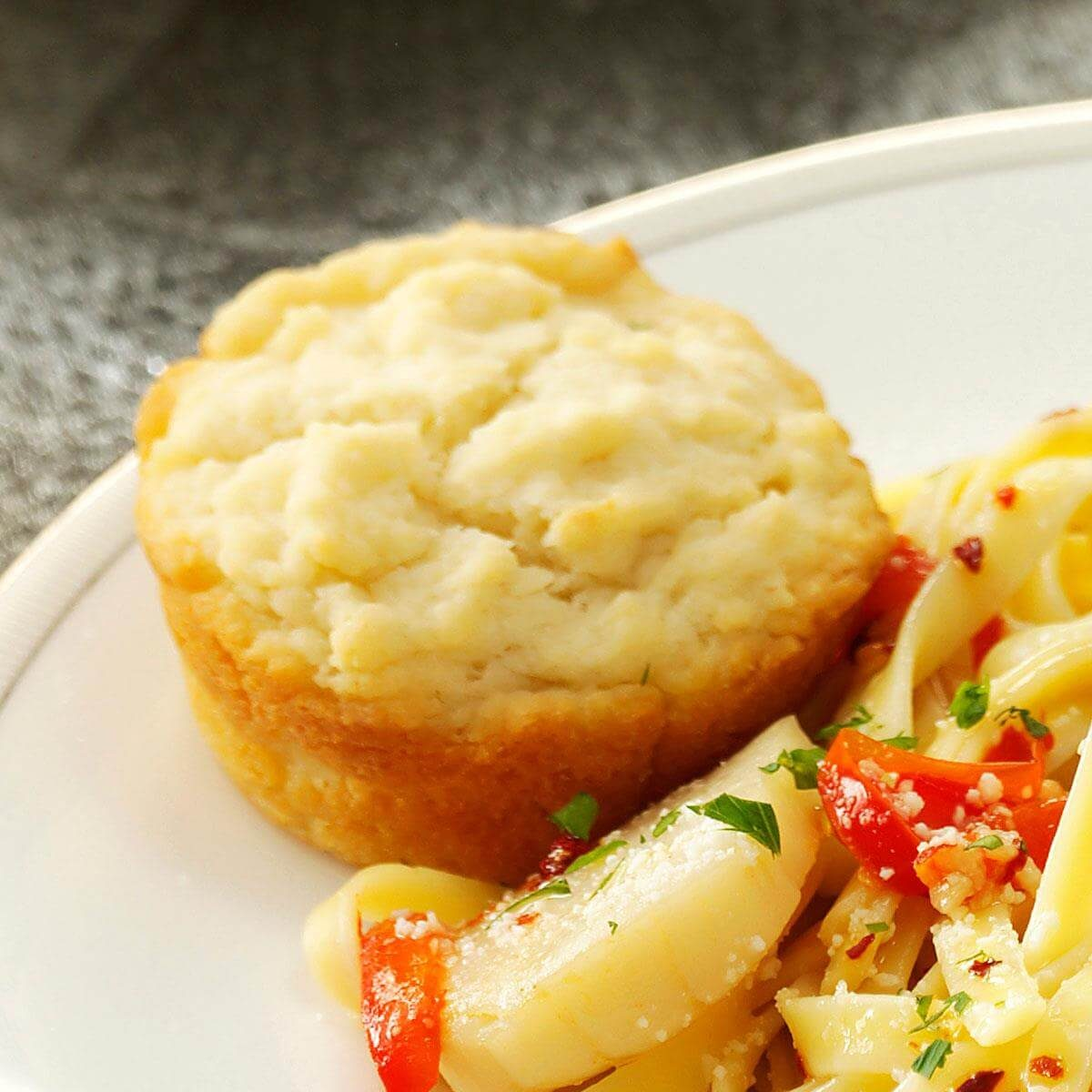 Buttery Sour Cream Muffins