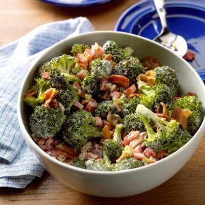 Christmas Broccoli Salad