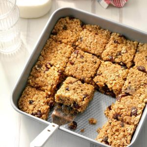 Cinnamon-Cranberry Oat Bars