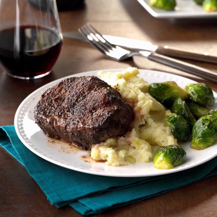 Cocoa-Crusted Beef Tenderloin