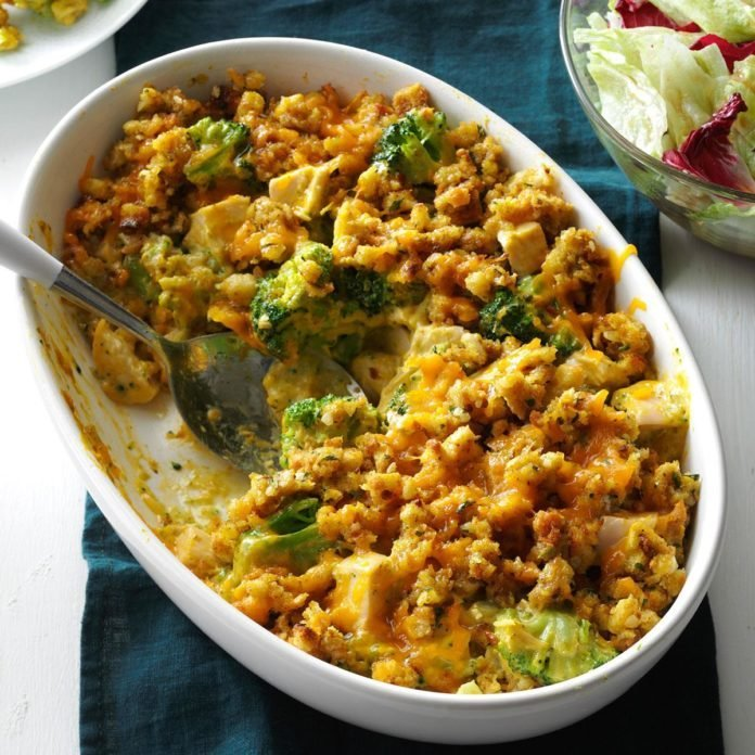 Contest-Winning Broccoli Chicken Casserole