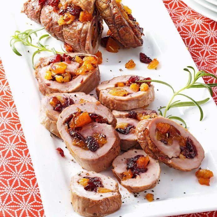 Cranberry-Apricot Pork Tenderloins