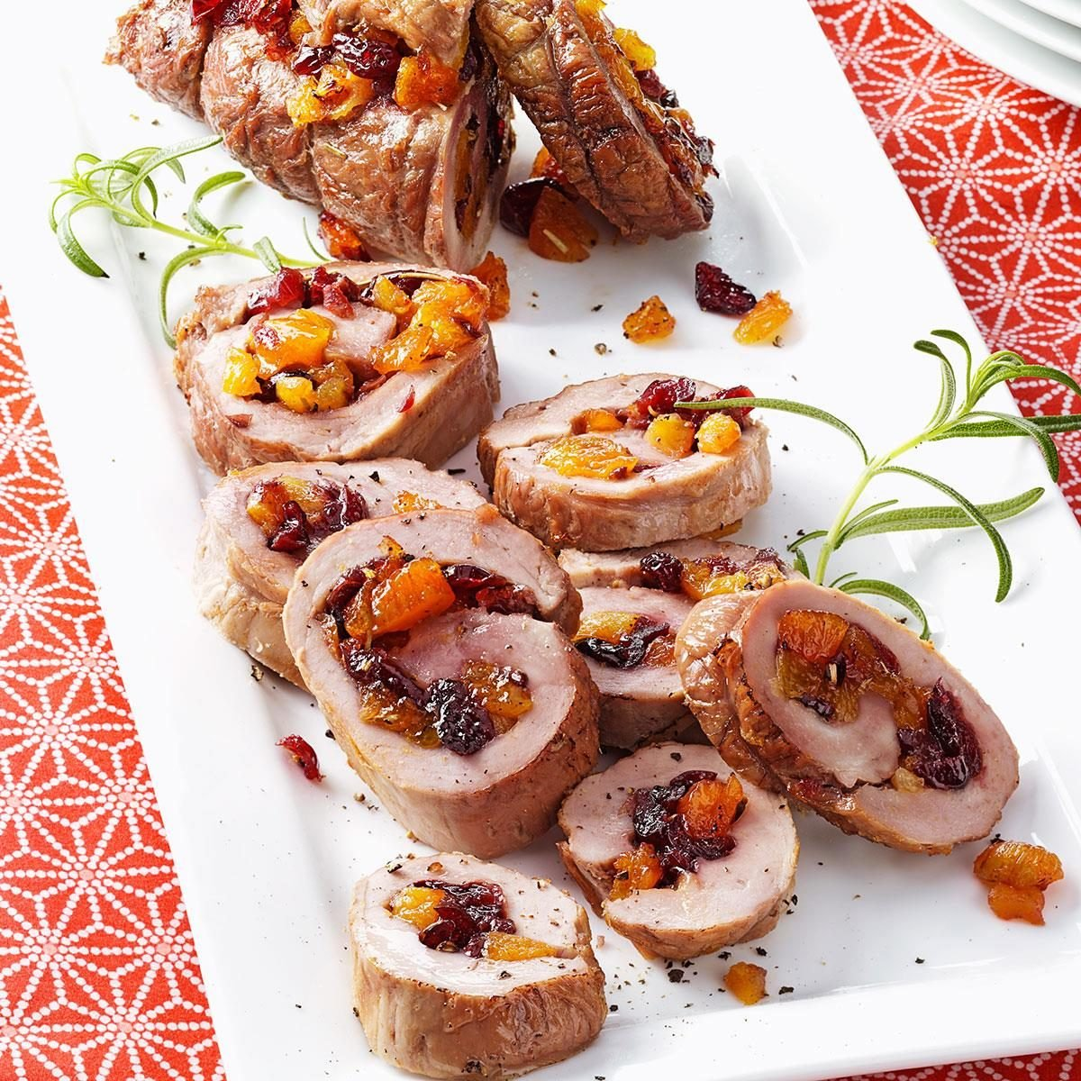 Cranberry Apricot Pork Tenderloins Recipe Taste Of Home