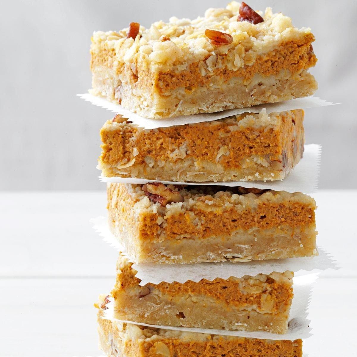 Cream Cheese Pumpkin Bars Recipe