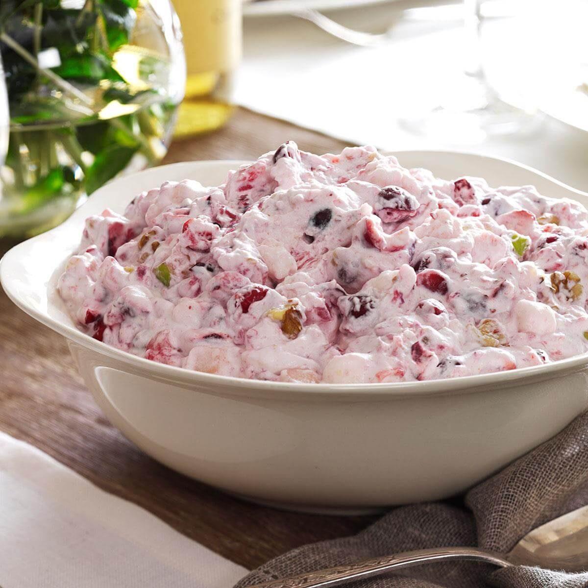 Creamy Cranberry Salad Recipe