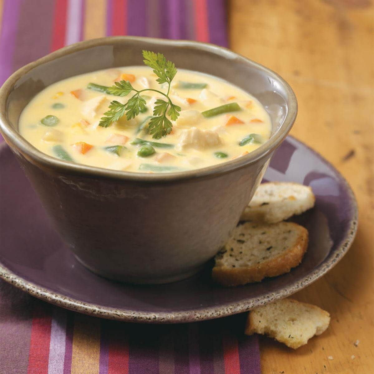 Cheese Chicken Soup Recipe Taste Of Home