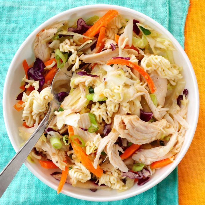 Easy Asian-Style Chicken Slaw
