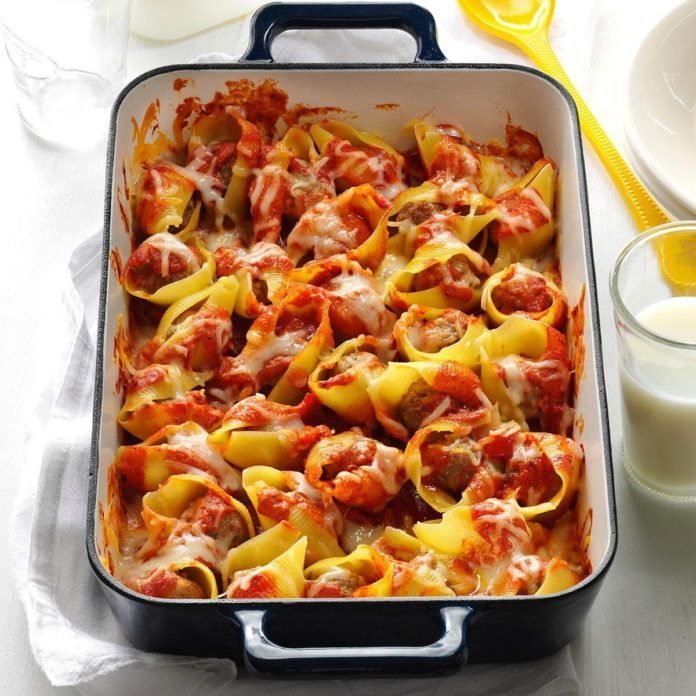 Easy Stuffed Shells