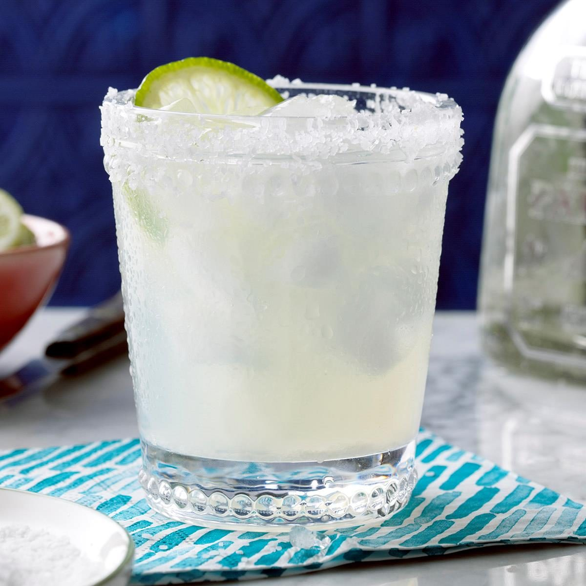 Fresh Lime Margaritas Recipe