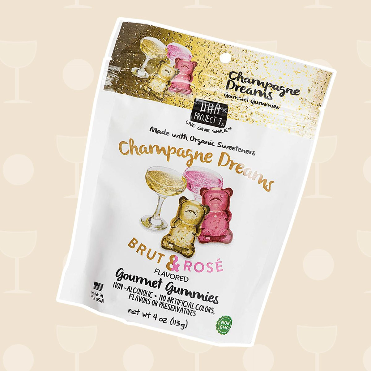 wine gifts, Gourmet Gummies in Champagne