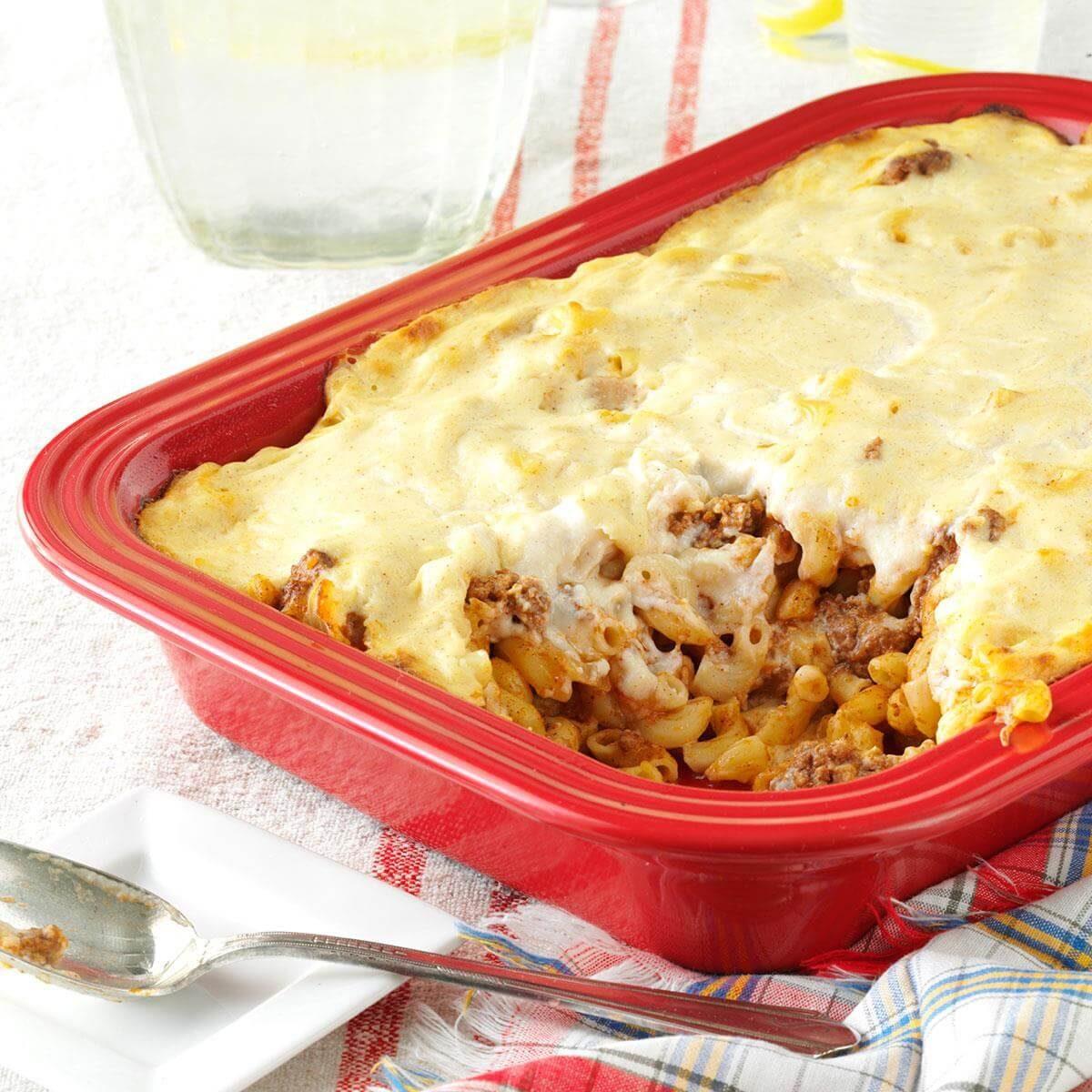 Ground Beef Phyllo Recipe: Greek Pasta And Beef Recipe