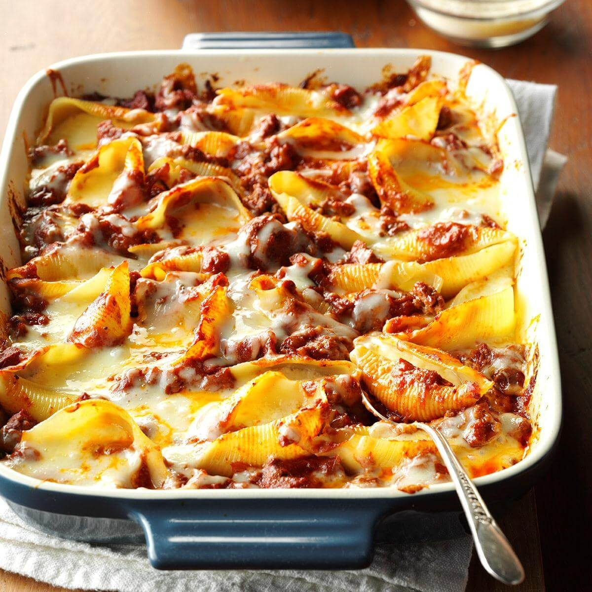 Italian Stuffed Shells Recipe Taste Of Home