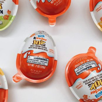 Kinder Eggs Are Now Available in America, But There's a Catch