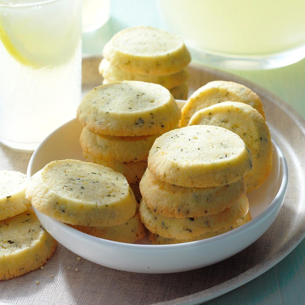 Lemon Thyme Icebox Cookies