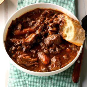 Mainly Mushroom  Beef Carbonnade