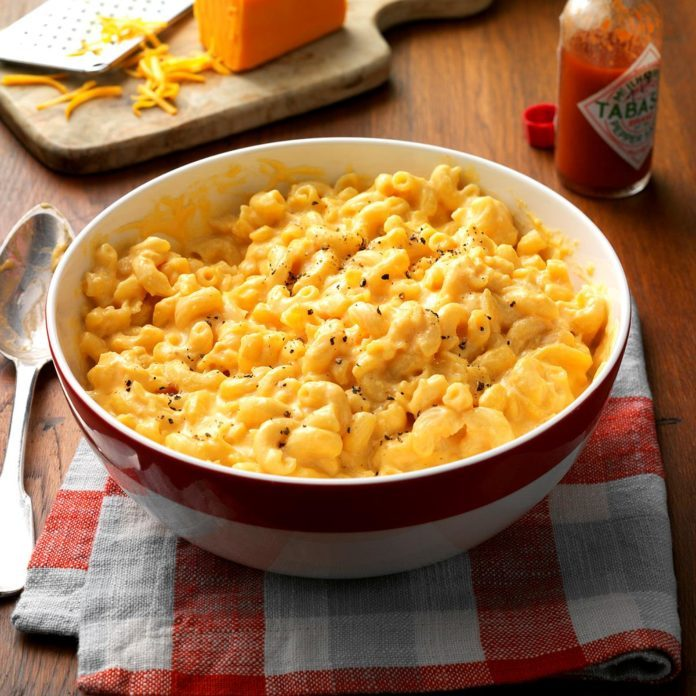Makeover Slow-Cooked Mac 'n' Cheese