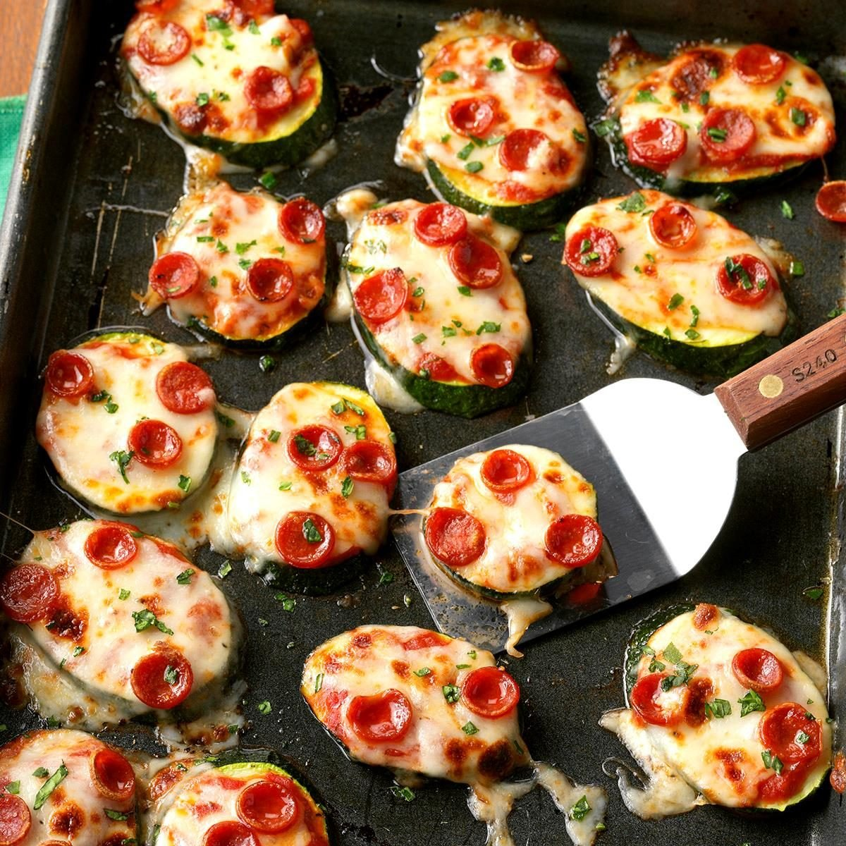 Mini Zucchini Pizzas Recipe Taste Of Home