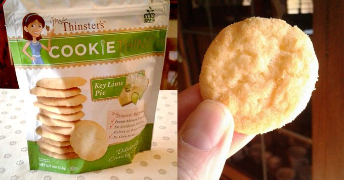 Thinster Cookie Thins Key Lime Pie