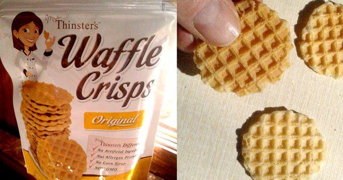 Mrs. Thinster Waffle Crisps