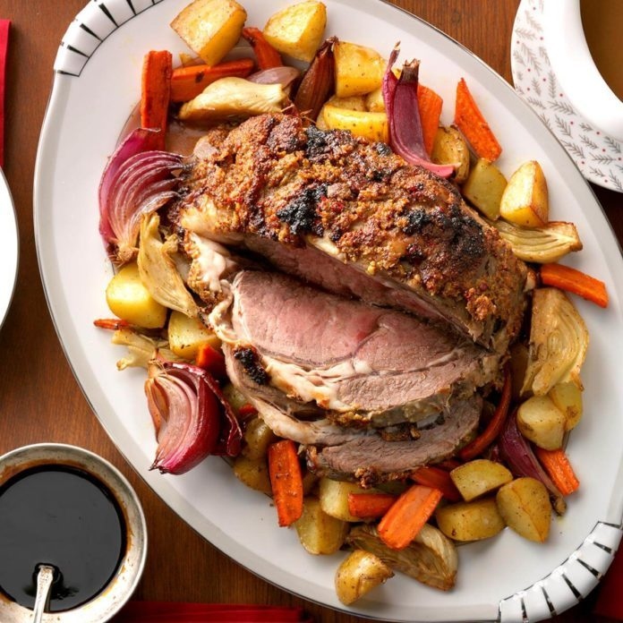 50 Recipes for an Easy Christmas Dinner Menu