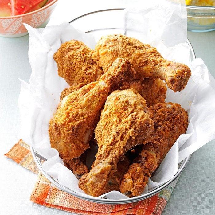 Oven-fried chicken Drumstick