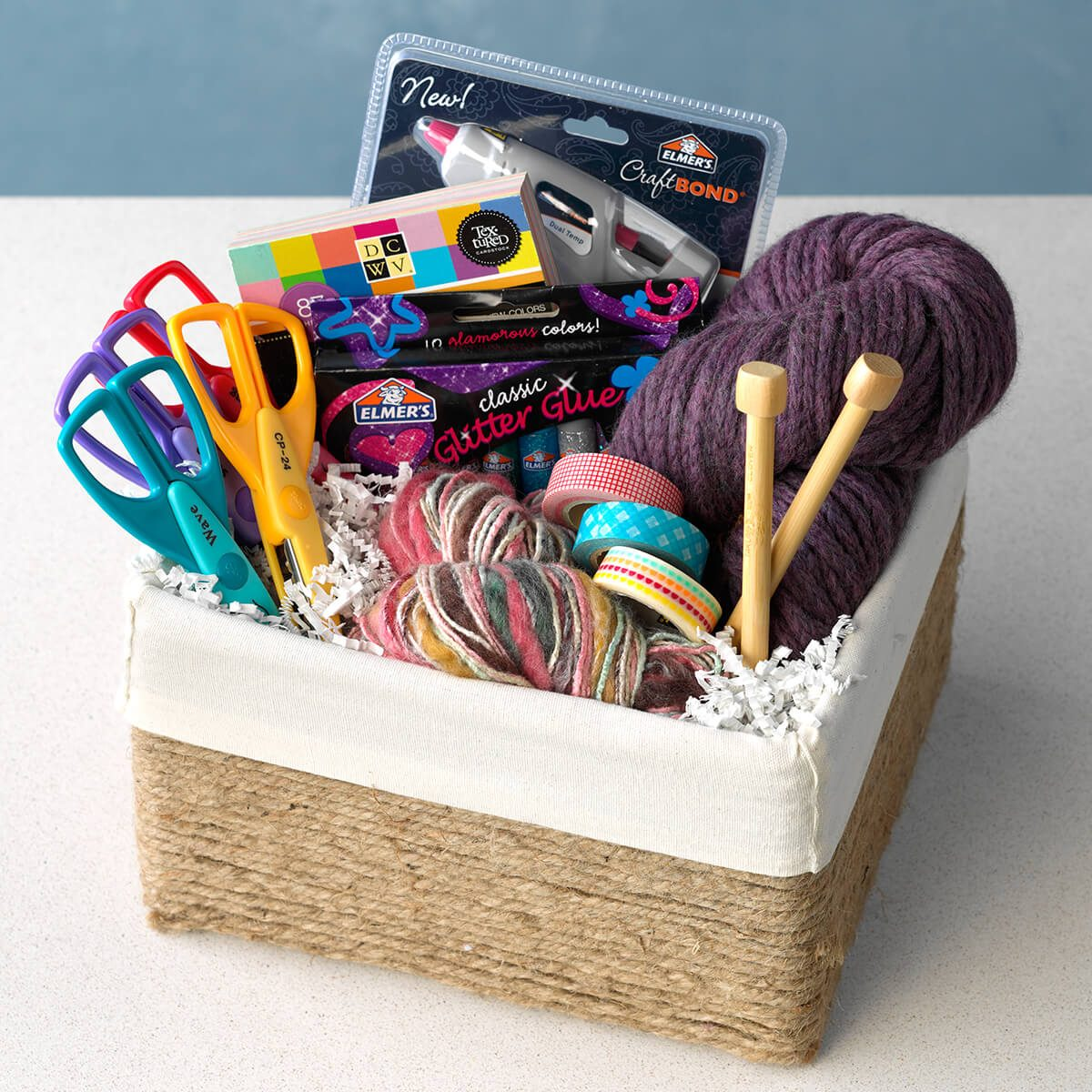 How to Make the Best-Ever Gift Basket for a Crafter