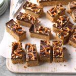 Peanut Butter Pretzel Squares