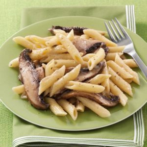 Peppered Portobello Penne