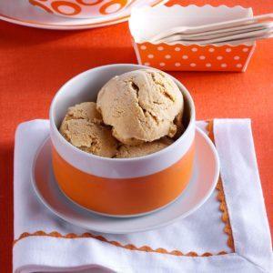 Pumpkin-Cream Cheese Ice Cream
