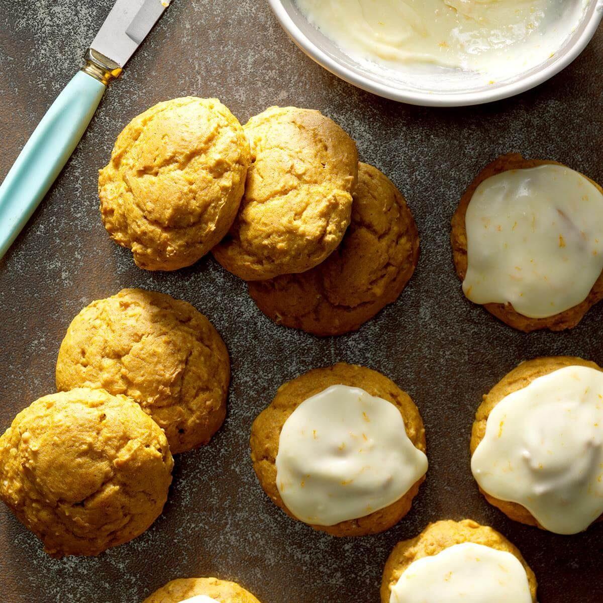 Pumpkin Spice Cookies Recipe Taste Of Home
