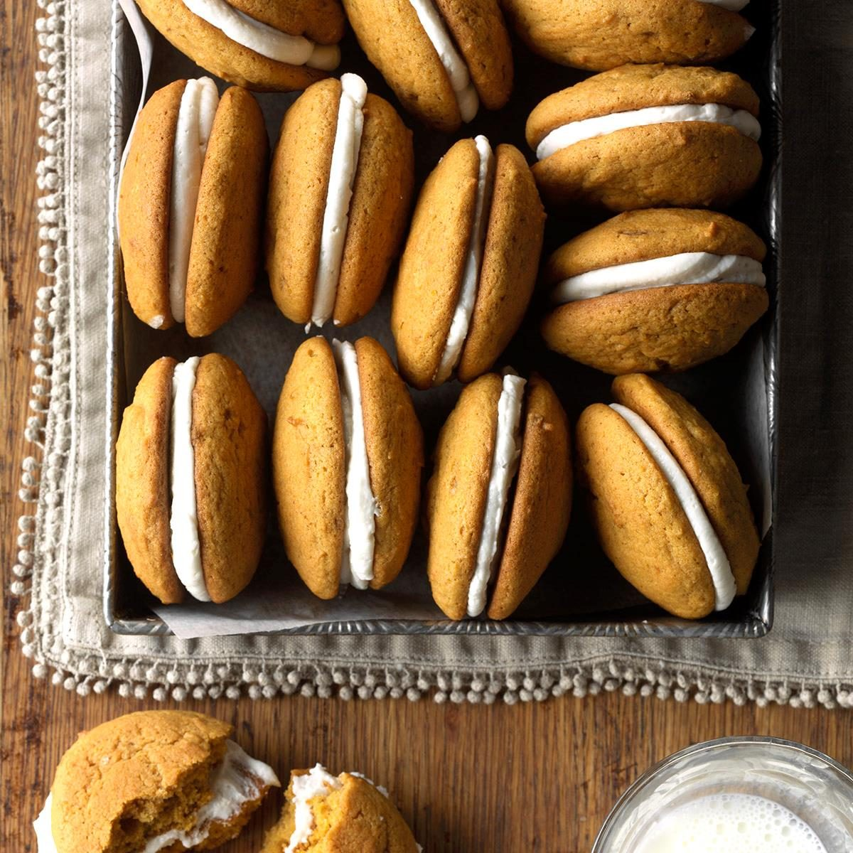 20 Pumpkin Cookies for Fall