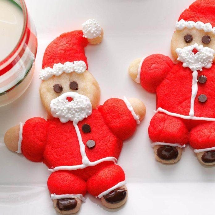 Roly-Poly Santas