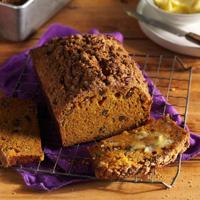 Rustic Pumpkin Bread