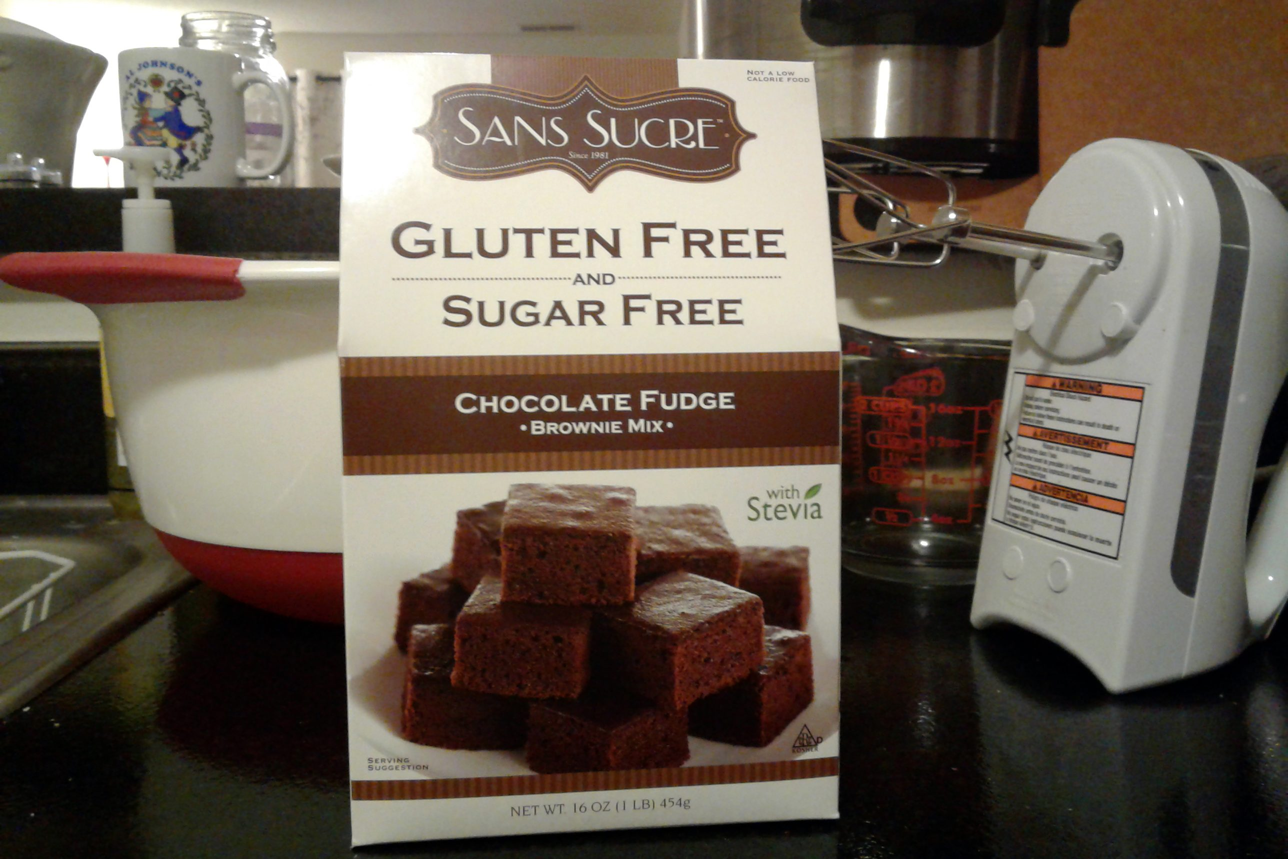 Sans Sucre brownies