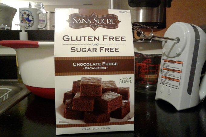 Sans Sucre brownies