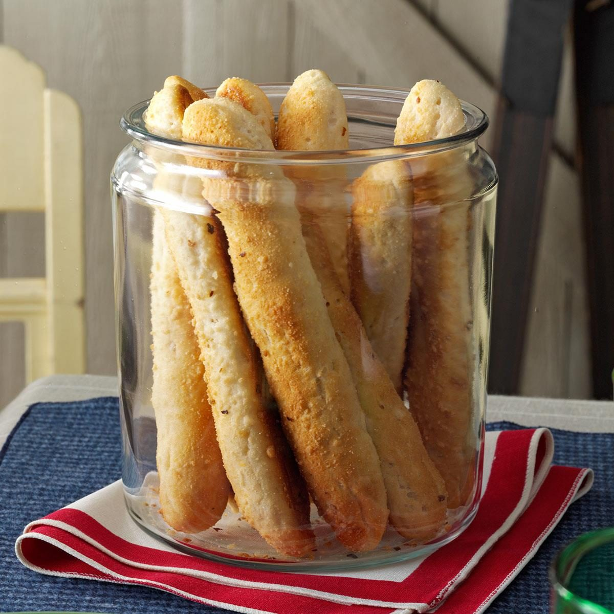 Savory Biscuit-Breadsticks Recipe | Taste of Home